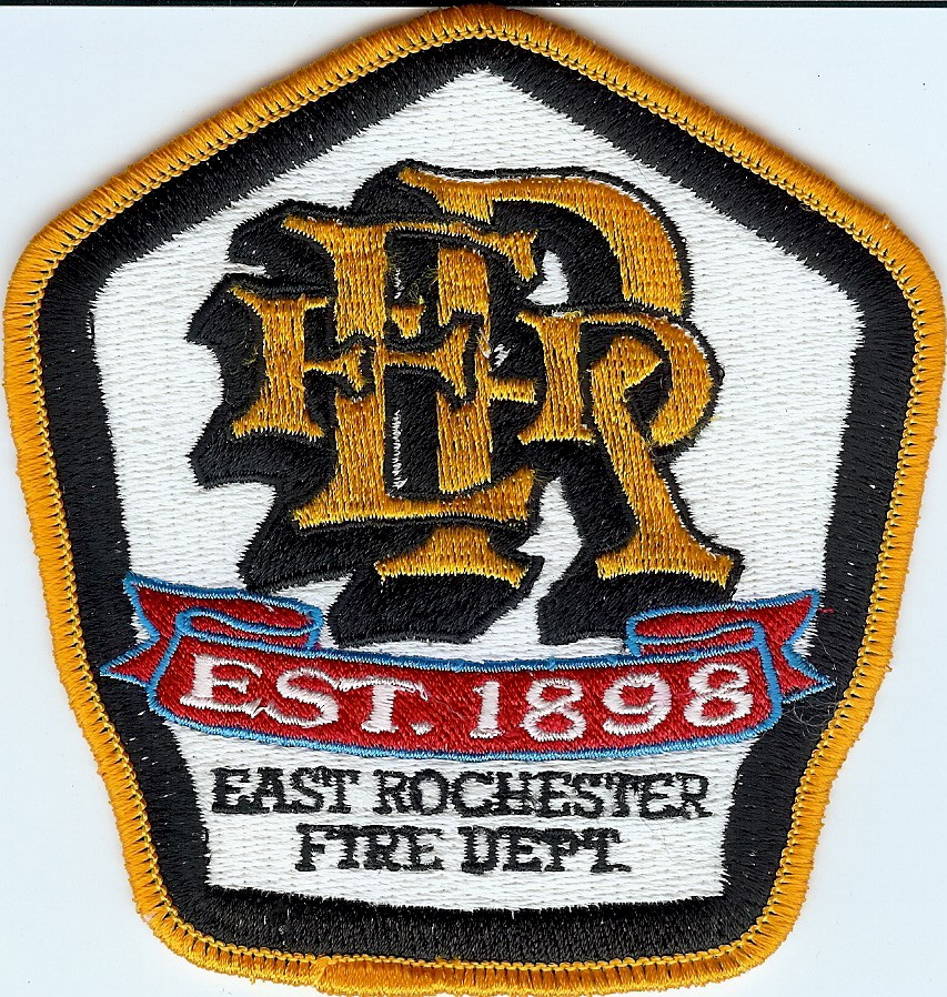 East Rochester Fire Department Fund Badge